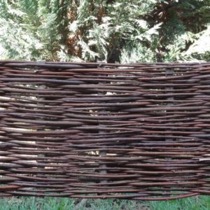 Prútený plot, plotik, palisáda, obrubník