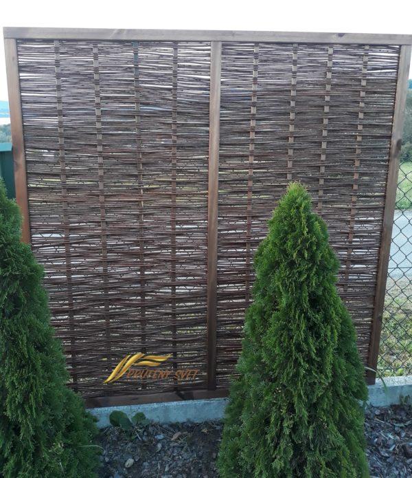 Prútený plot, plotik, palisáda, prútene ploty