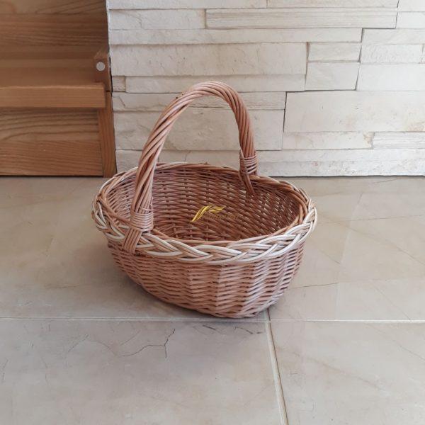 Detský prútený košík na piknik