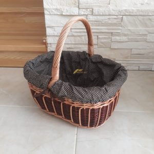 Prútený košík