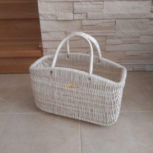 Prútená taška kabelka